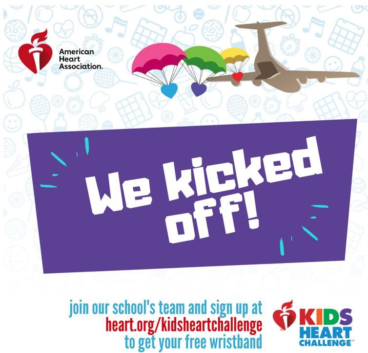 The Kids Heart Challenge officially kicked off on January 8th and will end on February 13th. Student
