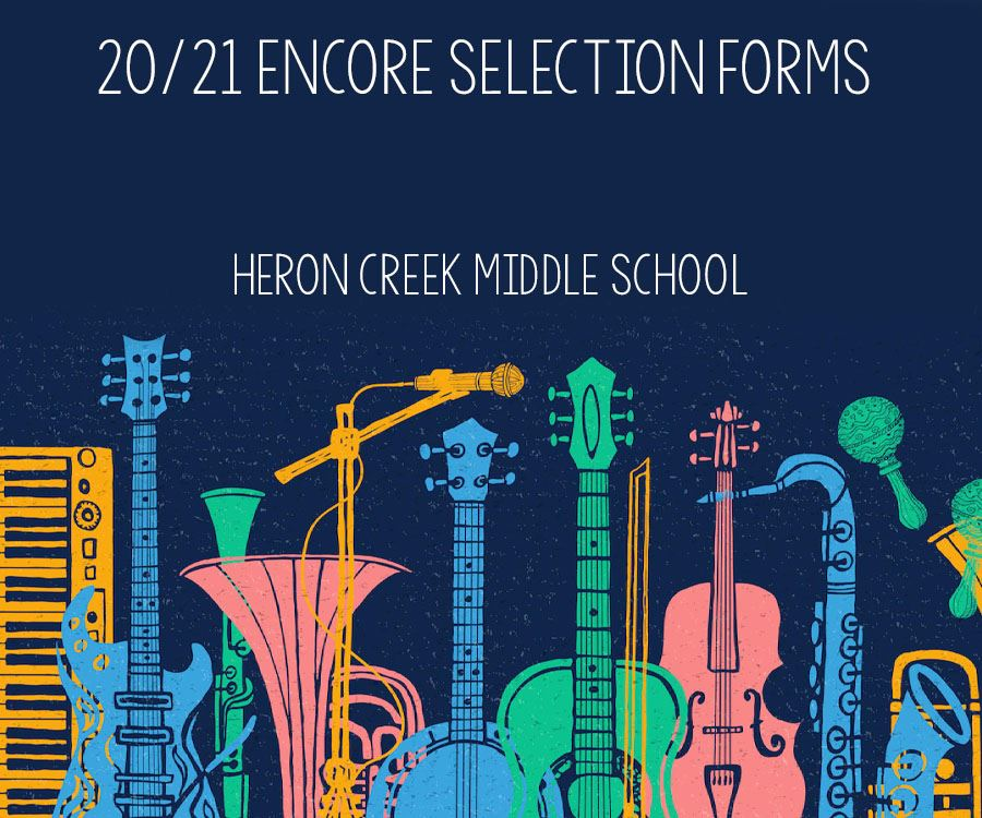 20-21 Encore Selection Forms