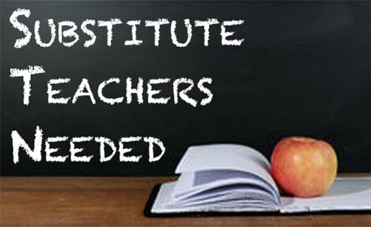 Substitute Teachers Needed!!
