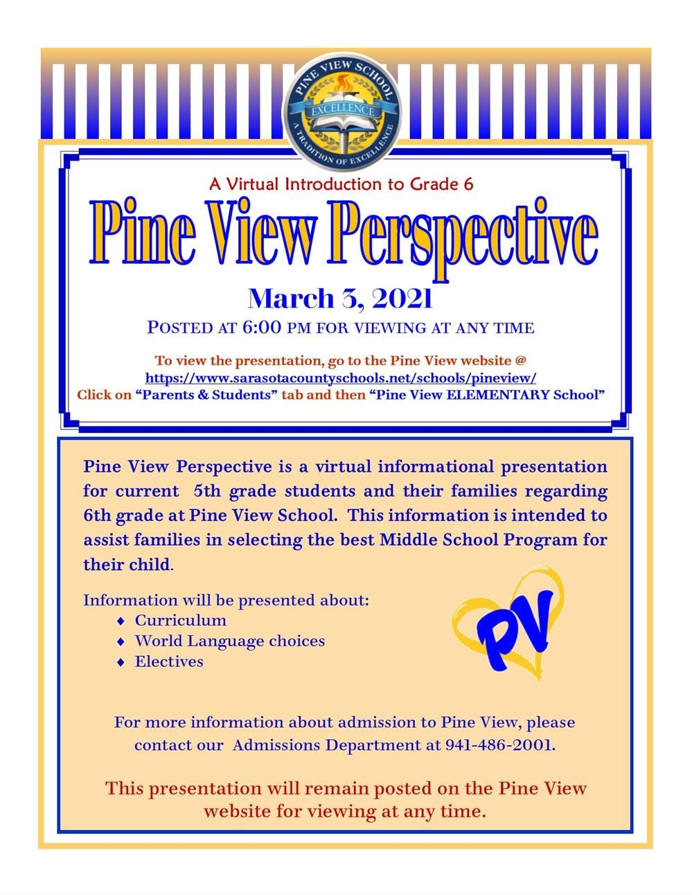 Pine View Perspective