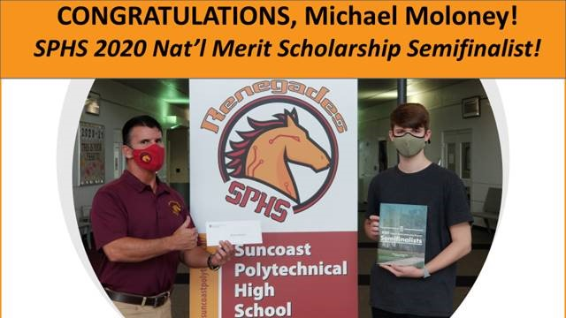 Congratulations Michael Moloney!!