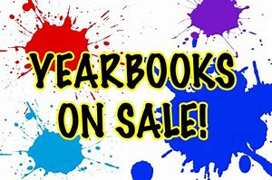 Yearbooks on Sale paint splats