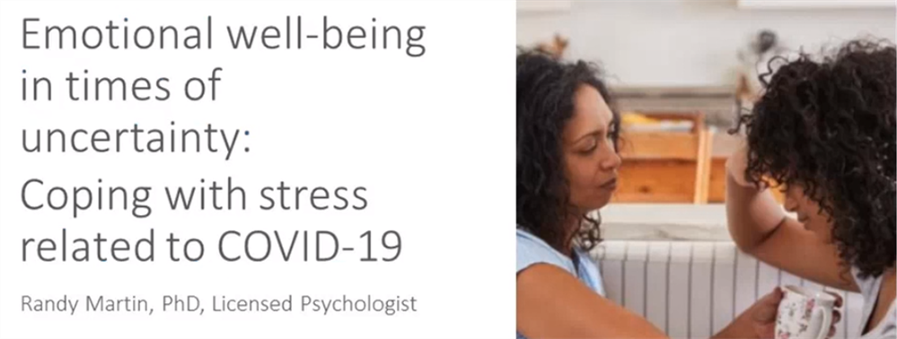 Emotional wellbeing and Covid19