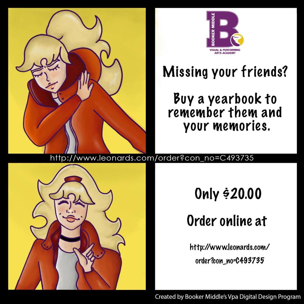 Order your BMS Yearbook Online!