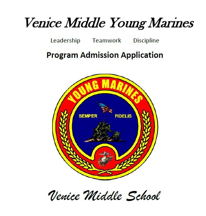 VMS Young Marines Application