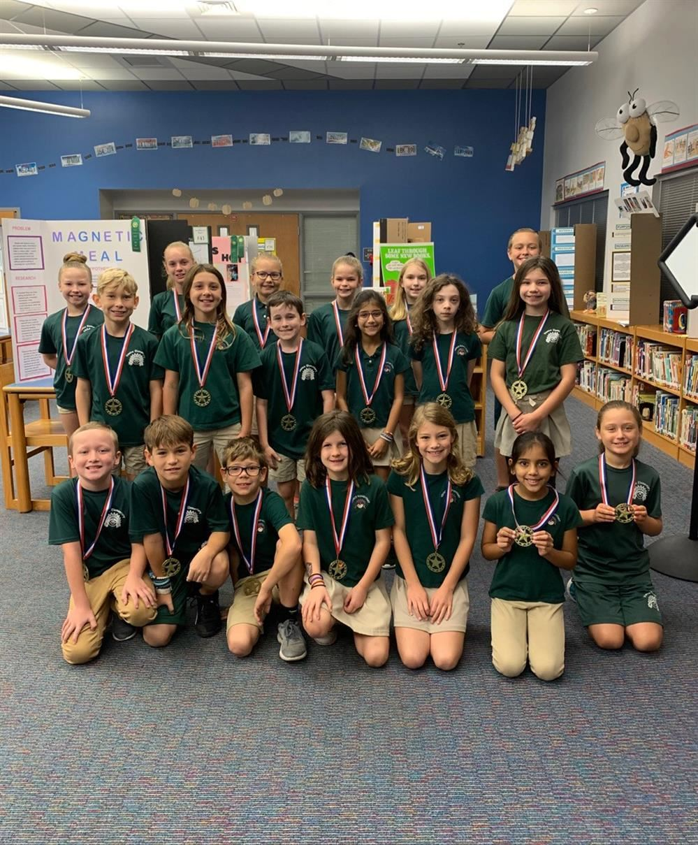 Congratulations to our STEM fair winners. They will compete at the county level in 2020.