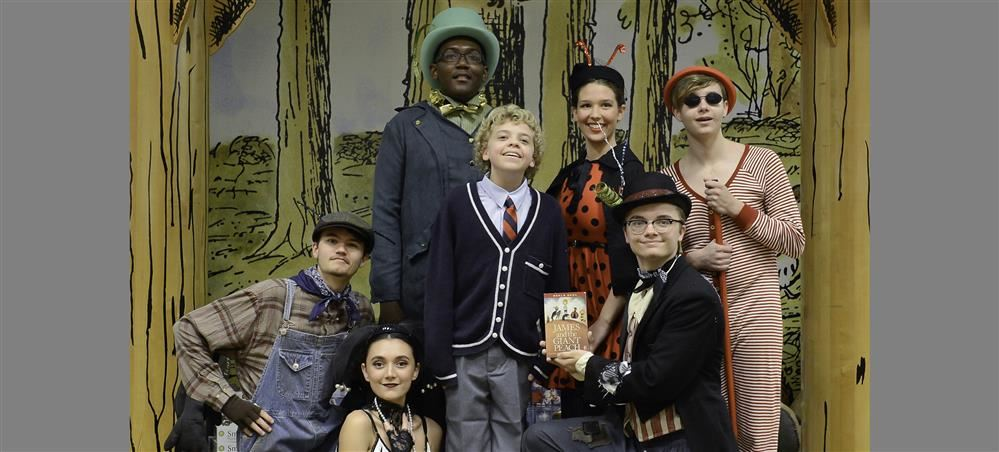 Booker High to stage 'James and the Giant Peach' Dec. 7-9