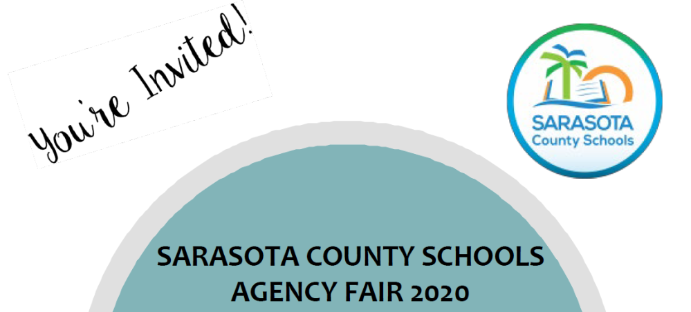Text announcing 2020 Agency Fair on March 26