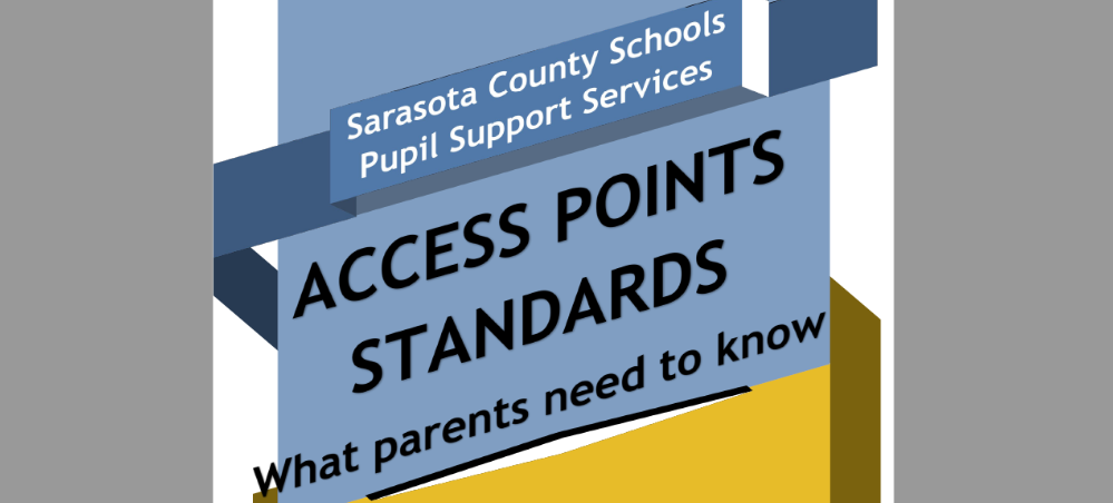Text - Access Points Standards, what parents need to know