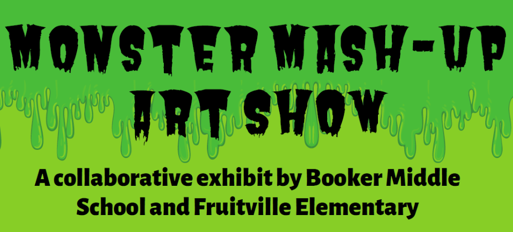 Booker Middle Monster Show logo