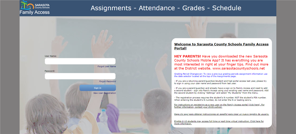 First-Quarter Report Cards Now Available on the Family Access Portal