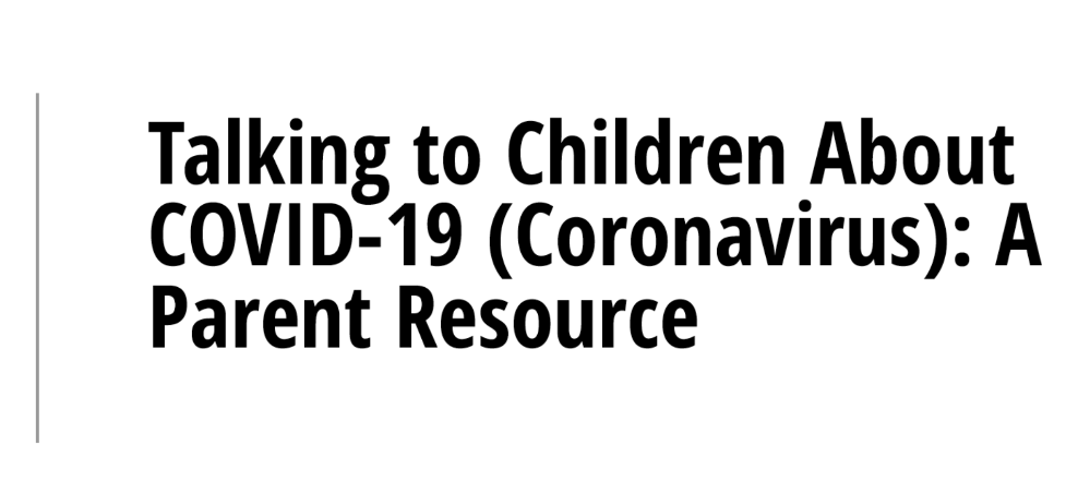 NASP Parent Resource for COVID-19