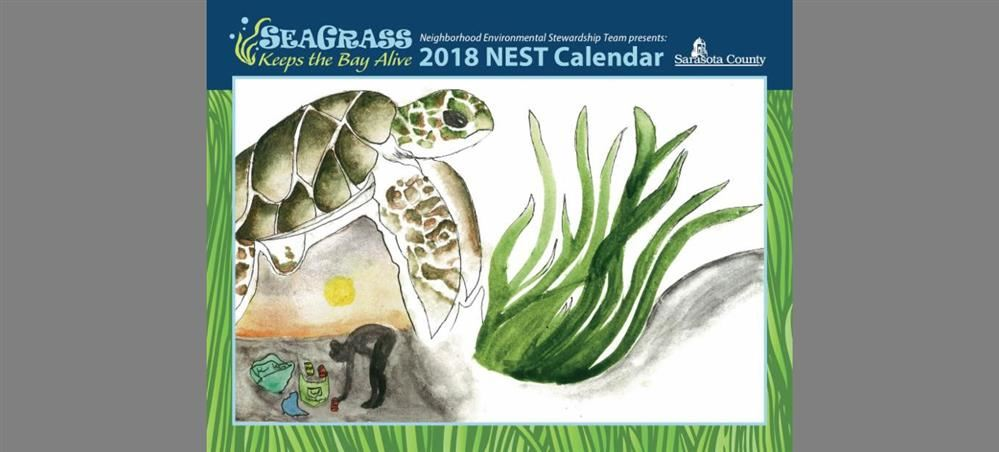 2018 NEST Calendar features art by Sarasota County students