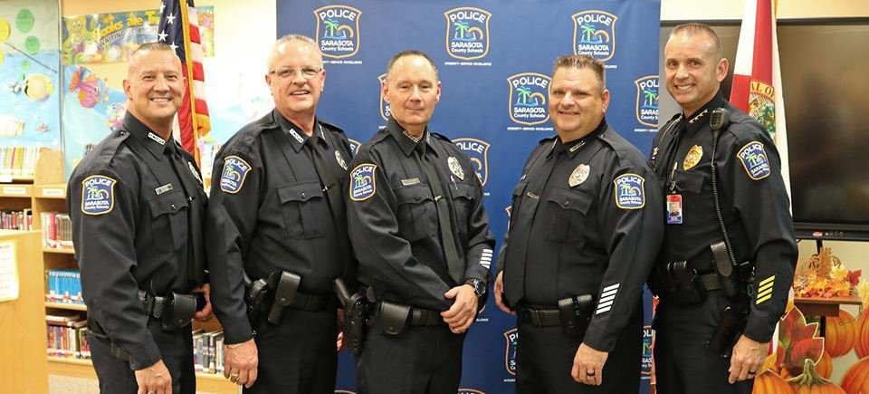 Sarasota County Schools Police Department Welcomes Four Officers at Oath of Office Ceremony