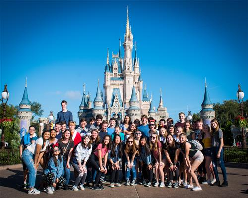 2019 Pine View high school choir at Magic Kingdom