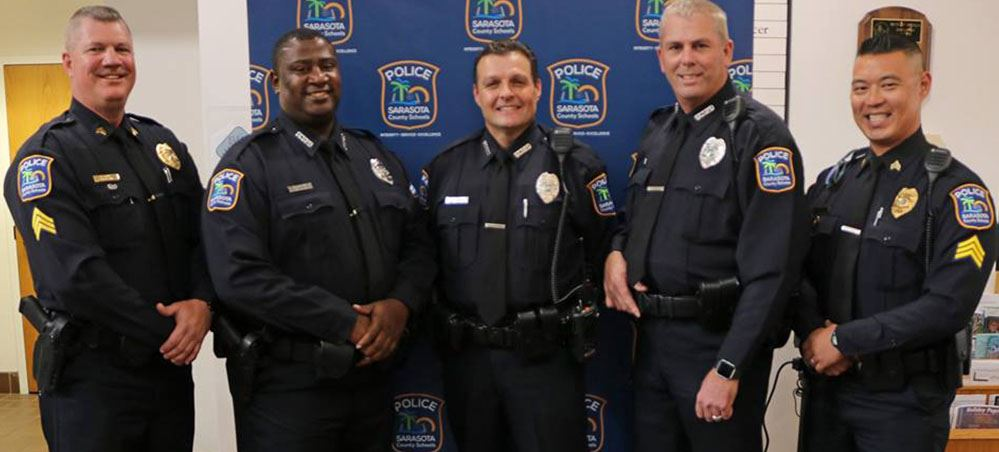 SCSPD welcomes three officers