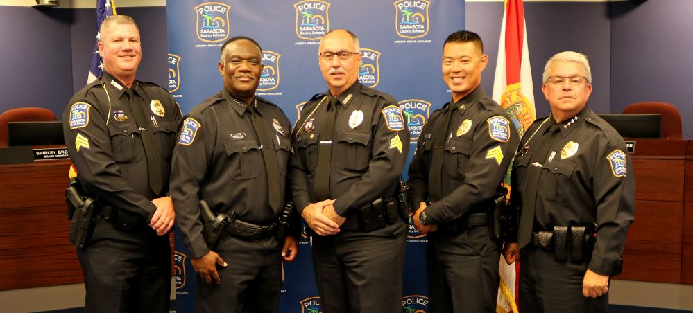 Sarasota County Schools Police Department Welcomes Officer Jenkins at Oath of Office Ceremony