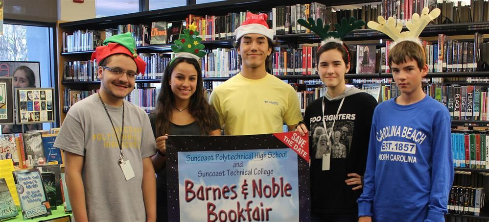 SPHS and STC schools to hold Book Fair at Barnes & Noble Dec. 14