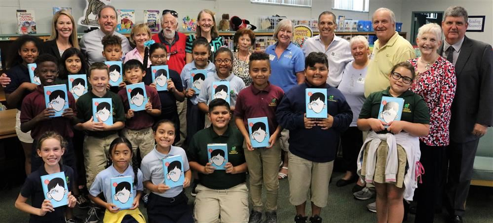 "Sarasota County Schools and Rotary Club of Sarasota Partner to Launch ""Rotary Reading Project"""