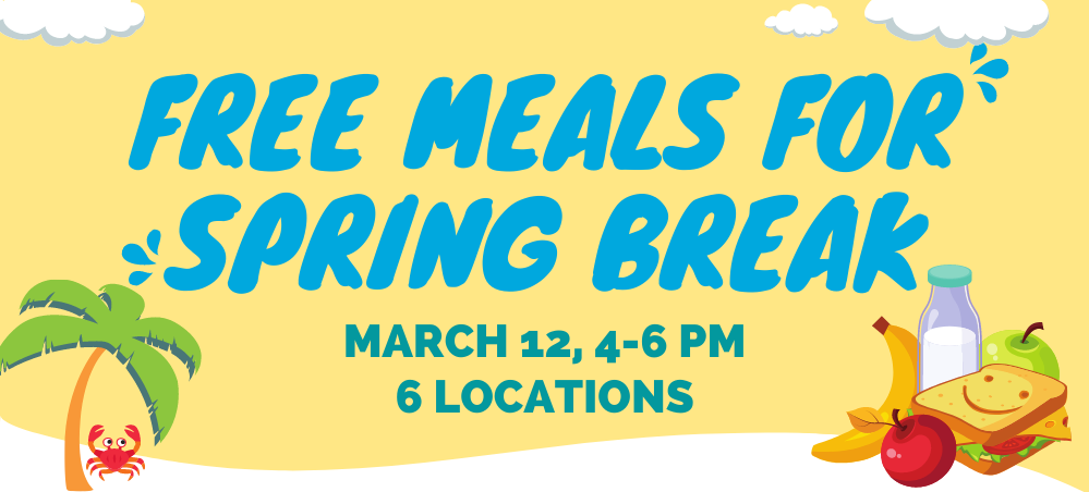 Kids receive free meals for Spring Break from FNS