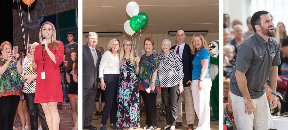 Sarasota County 2019 Teacher of the Year Finalists Surprised at School