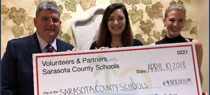 Sarasota County Schools Recognizes Outstanding Volunteers and Partners in Annual Award Ceremony